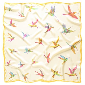 Kolibříci - žlutý šátek
